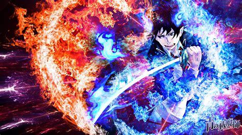 anime wallpaper blue exorcist blue exorcist wallpaper by skeptec on deviantart