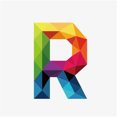 colorful letters colorful letters r letter colorful r png image and
