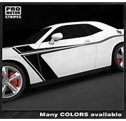 Details About Dodge Challenger Side Accent Stripes 2008 2009 2010 2011