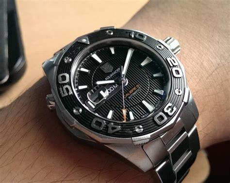 Tag Heuer Aquaracer 500m Replika Automatic replica tag heuer aquaracer 500m calibre 5 waj2110 ba0870 on review replica watches