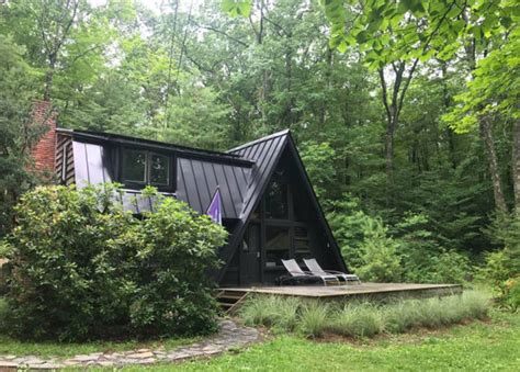 charming grid a frame cabin in the catskills