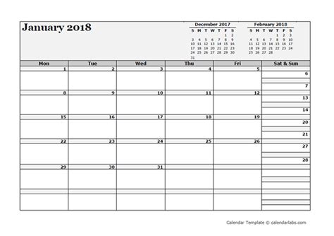 blank one month calendar template 2018 blank three month calendar free printable templates