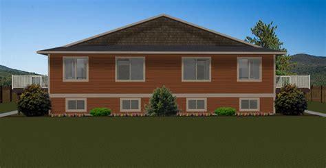 4 Plex Plan 2009453 By Edesignsplans Ca 4 Plex House Plans Canada