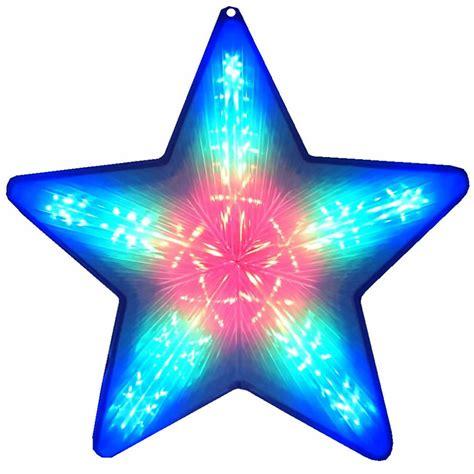 Lu Natal Led Bossecom pisca pisca estrela de natal 20 leds colorido rgb 50cm bi