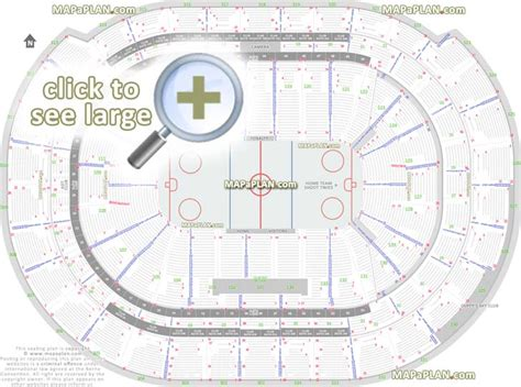 number of sections in an ice hockey rink bb t center seat row numbers detailed seating chart