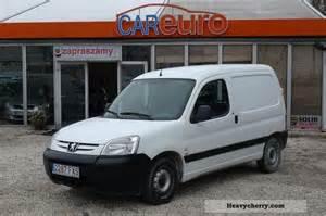 Peugeot Partner 2007 Peugeot Partner 2007 Other Vans Trucks Up To 7 Photo And Specs