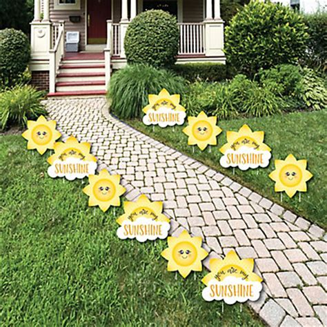 Baby Shower Yard Decorations by You Are Sun And Cloud Lawn Decorations