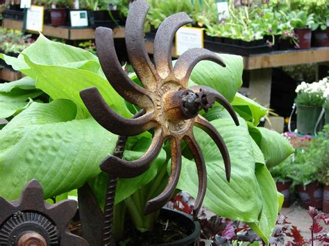 backyard art garden art squak mt greenhouses nursery
