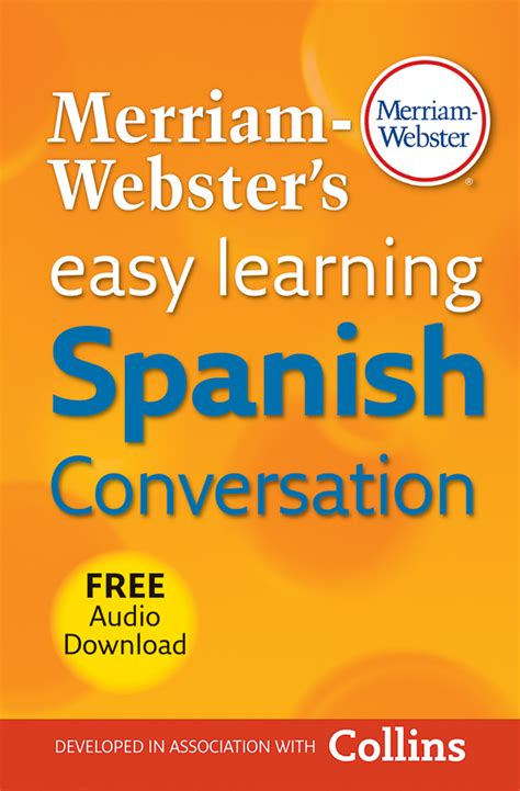 easy learning spanish conversation shop merriam webster