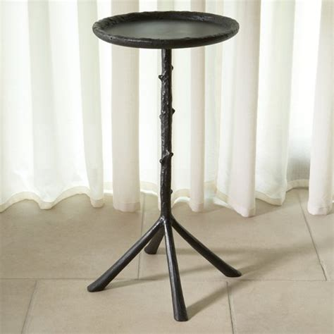 mini accent table l global views 9 91067 mini twig traditional side table glv