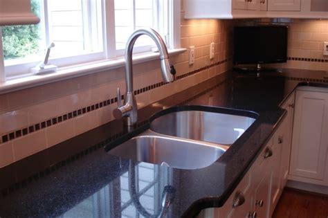 Evier Granit Entretien by Granit Noir Dans La Maison Exemples Et Conseils
