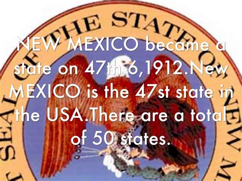 New Mexico The 47th State by New Mexico By E P