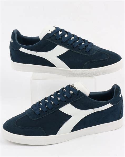 Diadora Clasic Original diadora b original vlz trainers blue denim white borg shoes mens