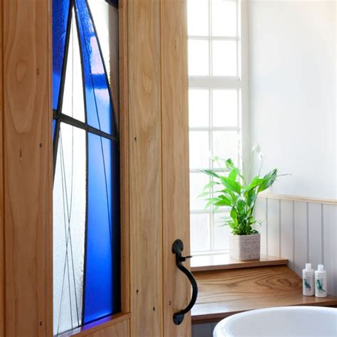 stained glass bathroom door stained glass door be inspired by a country style