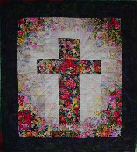 Watercolor Quilt Pattern Free | cross quilt watercolor pattern bing images