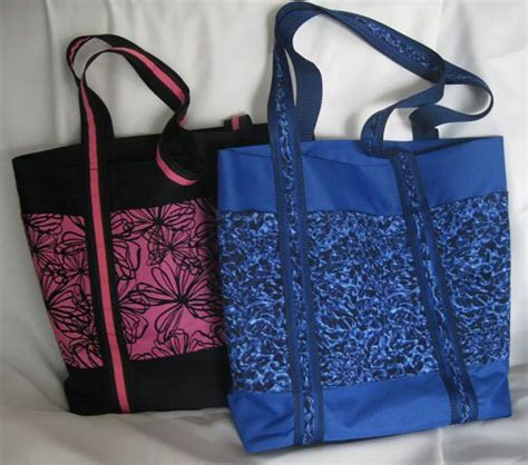 free tote bag pattern with inside pockets free patterns for feed bag tote backpacks and purses