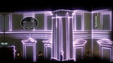 Interior Projection Mapping by Experiential Graphics Projection Mapping At The Customs