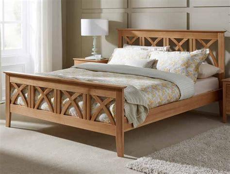 serene maiden solid oak bed frame buy
