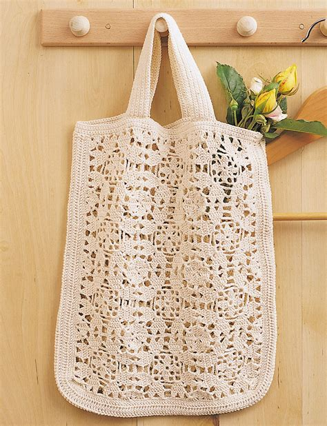crochet duffle bag pattern free tote bag patterns yarnspirations