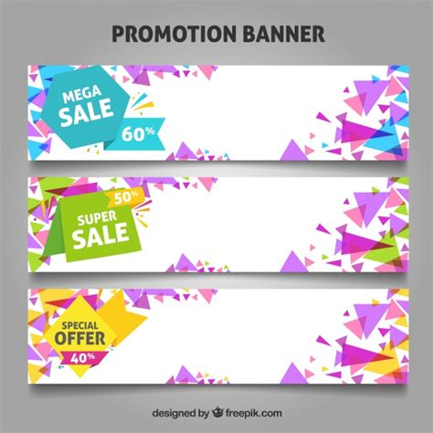 new year promotion banner promotion banners for offers and sales vector free