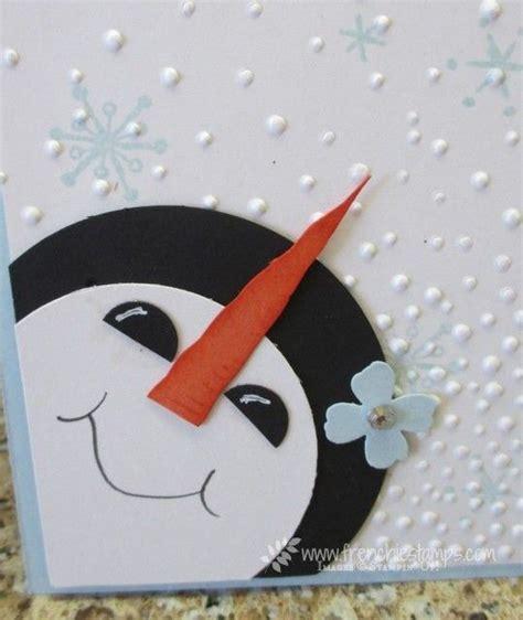 1000 idee su snowman cards su pinterest carte di natale
