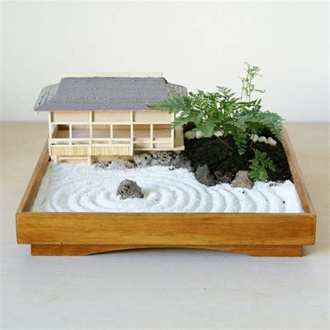 Mini Zen Garden by Miniature Zen Garden For Relaxing Small Garden Ideas