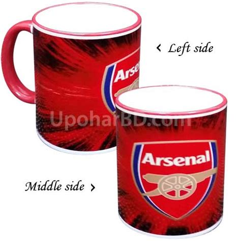 arsenalchristmas mgs buy personalized arsenal printed mug in bangladesh arsenal mug personalised gifts