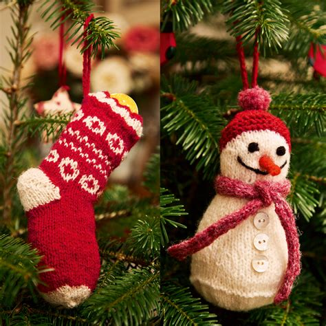 knitting pattern christmas stocking tree decoration download our top 10 free christmas knitting patterns the