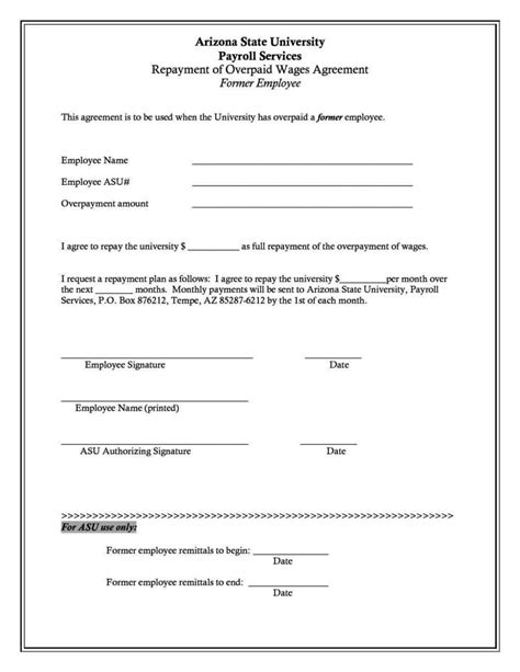 wage agreement template wage agreement template sletemplatess sletemplatess