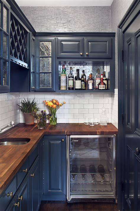 navy blue cabinetry