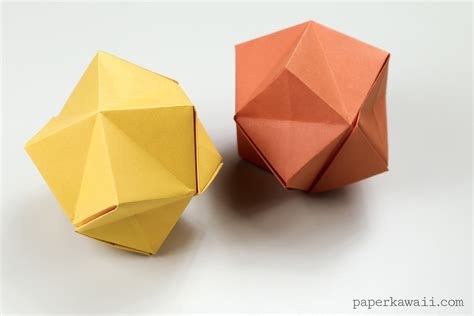 Up Origami Box - origami origami stellated octahedron