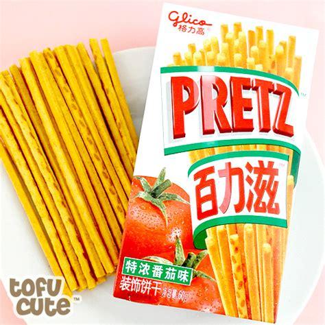 Glico Tomato Pretz buy glico pretz pretzel sticks tomato at tofu
