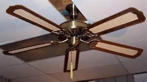 Fan On The Ceiling Winco Early Day Five Blade Ceiling Fan Model Cf 202