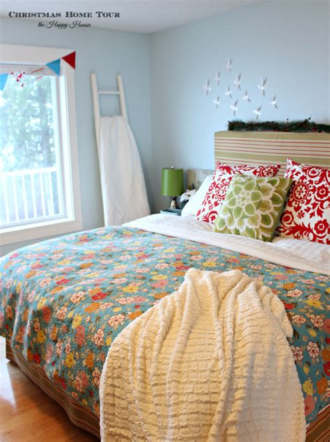 happy bedroom deck the halls our full christmas home tour the happy