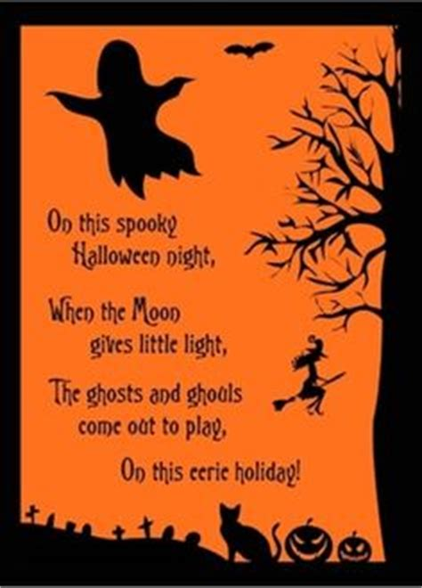 halloween poems cards festival collections