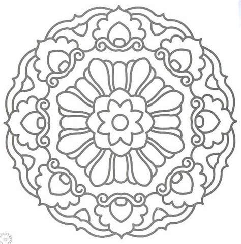 coloring pages of mandala designs free mandala designs to print coloring pages 53