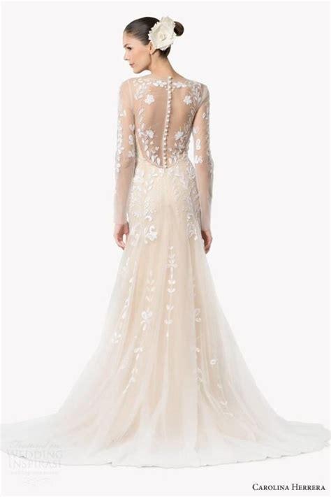 carolina herrera wedding dresses carolina herrera bridal fall 2015 wedding dresses 2205254