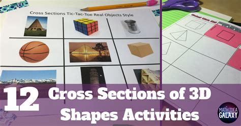 cross section of a 3d shape 12 activities to practice cross sections of 3d shapes like