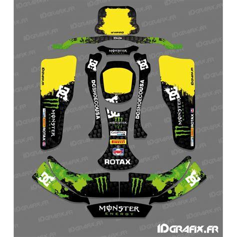 Kart Aufkleber Set by Kit Deco 100 Custom Monster Kart Crg Rotax 125 Idgrafix