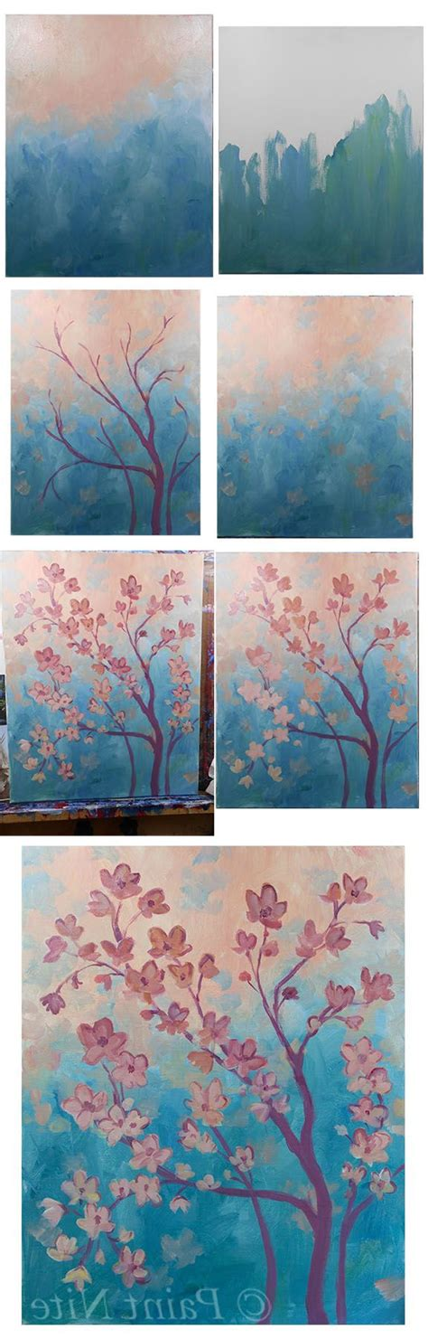 acrylic painting how to step by step step by step painting acrylic defendbigbird