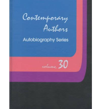 autobiography vs biography here s a quick reference contemporary authors autobiography series v 30 gale