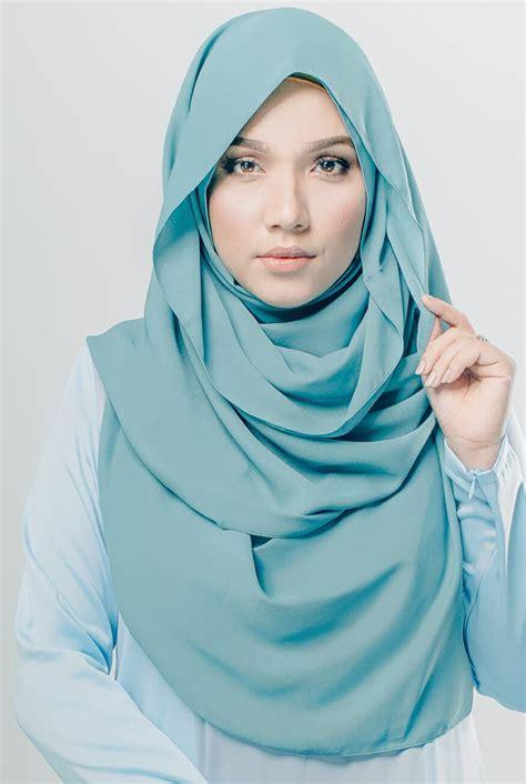 kreasi tutorial hijab simple  pashmina segi empat