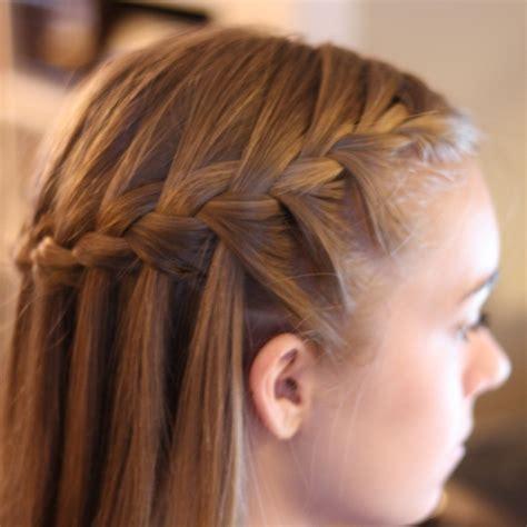 hair braiding waterfall braid nimmity