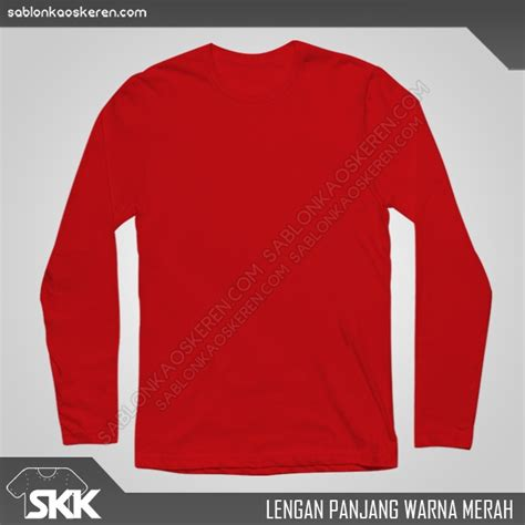 Polo Shirt Supreme Lengan Panjang Hijau kaos model lengan panjang dengan kualitas bahan terbaik
