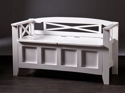 cutler bench cutler storage bench white
