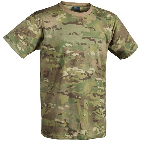 Tactical Tshirt Multicam by Helikon Tactical Mens T Shirt Army Cadet Top