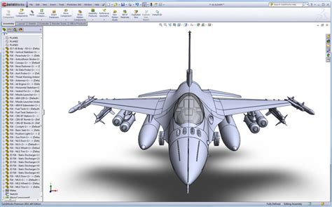 Workshop Blueprints by All New F 16 Solidworks Surfacing Tutorial