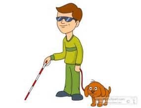 a blind helping blind clipart clipartsgram