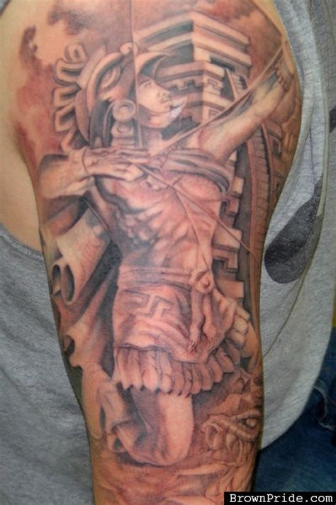 archer tattoo designs archer aztec tattoos book 65 000 tattoos designs