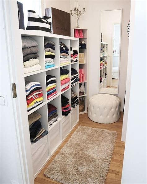 Wall Mirror With Hooks by 4 Small Walk In Closet Organization Tips And 28 Ideas